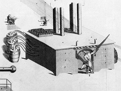 La primera máquina de influencia