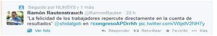 Tuit I Congreso Nacional de RRHH